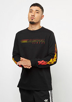 Criminal Damage Top Fireball black/multi