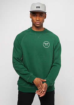 Brixton Wheeler Fleece heather forest