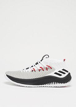 adidas Lillard 4 white/black/scarlet