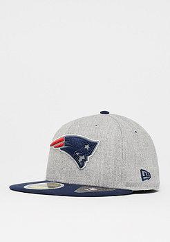 New Era 59Fifty Reflective Heather NFL New England Patriots grey