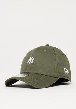 New Era 39Thirty Mini Logo MLB New York Yankees new olive/white