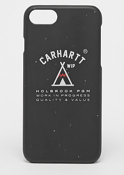 Carhartt WIP Holbrook iPhone Hardcase black/off white/red