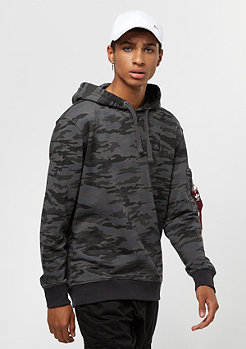 Alpha Industries X-Fit black camo