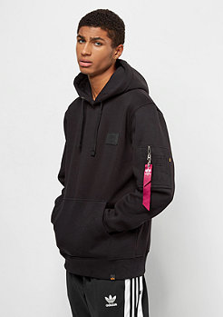 Alpha Industries Back Print black