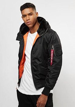 Alpha Industries MA-1 Hooded black