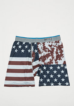 Stance The Boxer Brief Digi Camo Flag red