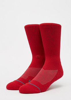 Stance Athletic Crew Athletic Icon red