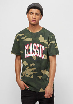 Cayler & Sons BL Worldwide Classic Tee woodland/white