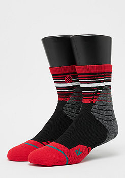 Stance Fusion Hoops Trey red