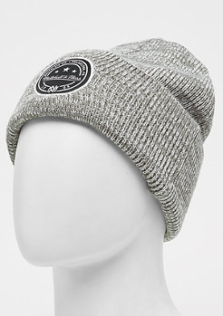 Mitchell & Ness Patch Cuff Knit charcoal speckle/charcoal