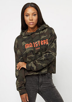Sixth June Classic Oversize Cropped Monster Tour camo