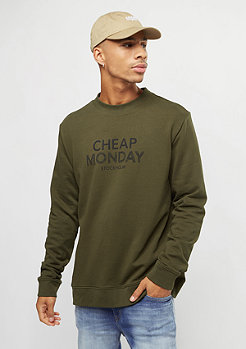 Cheap Monday Worth Doodle Logo dark green