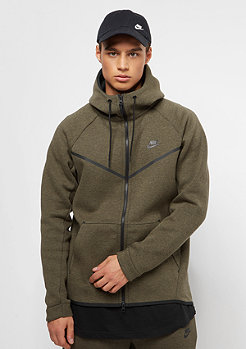NIKE Tech Fleece Windrunner medium olive/htr/black