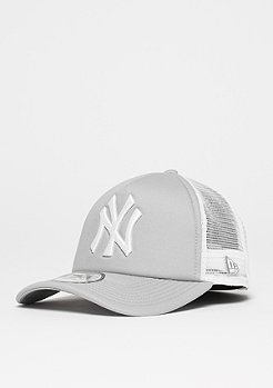 New Era 9Forty Clean Aframe MLB New York Yankees gray/white