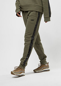 SNIPES Stripe olive night/black