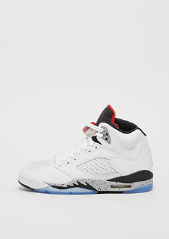 JORDAN Air Jordan 5 Retro white/university red/black/matte silver