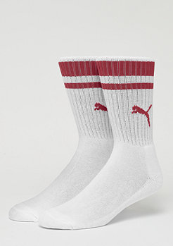 Puma Heritage Crew Stripe 2P white/ribbon red