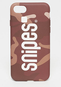 SNIPES Box Logo Case iPhone 7 rose camo