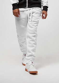 Fleece Jogger white