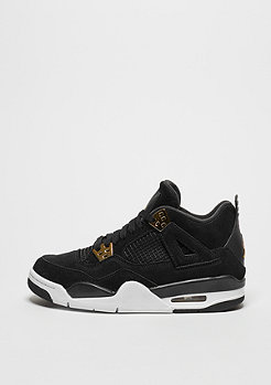 Basketballschuh Air Jordan 4 GS black/metallic gold white