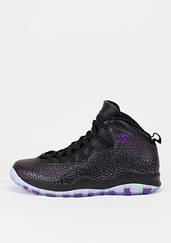 Air Jordan X black/fierce purple/black