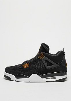 Basketballschuh Air Jordan 4 Retro black/metallic gold white
