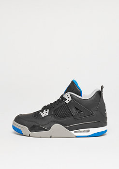 Air Jordan 4 Retro (GS) black/soar/matte silver