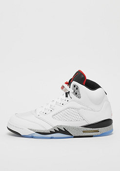 JORDAN Air Jordan 5 Retro white/university red/black