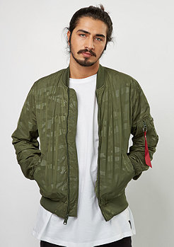 Alpha Industries Übergangsjacke MA-1 Hidden Camo dark green