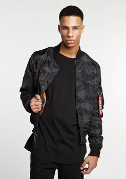 Alpha Industries Jacke MA-1 TT black camo