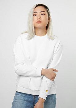 Sweatshirt Chase LT white/white