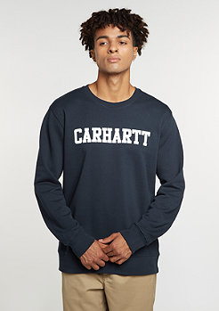 Sweatshirt College navy/white