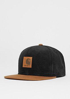 Snapback-Cap Gibson Starter black/hamilton brown