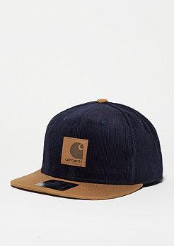Snapback-Cap Gibson Starter navy/hamilton brown
