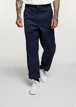 Chino Hose Simple navy