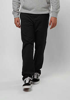 Chino-Hose Station Pant black rinsed