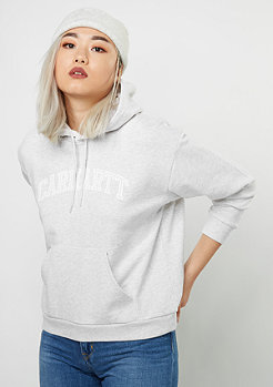Carhartt WIP Hooded-Sweatshirt Yale ash heather/white