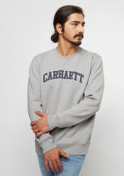 Carhartt WIP Sweatshirt Yale grey heather/navy