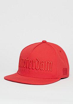 Snapback-Cap GL Amsterdam Mono lazer red