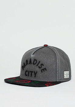 Snapback-Cap GL Cap Paradise City grey/black/mc