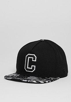 Snapback-Cap GLD Cee Flagged black/white