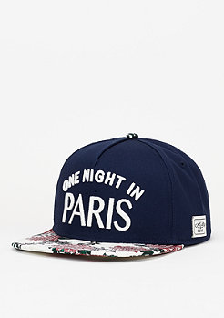 C&S WL Cap Rosed Up navy/floral off-white/white