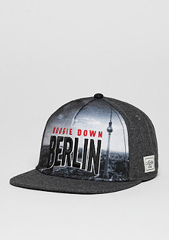 Snapback-Cap WL Berlin Skyline grey/mc