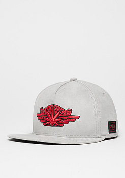 Snapback-Cap WL Fly High grey