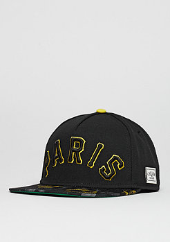 Snapback-Cap WL Paris Jaune black/yellow/green
