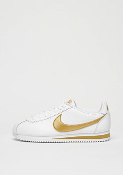 NIKE Classic Cortez Leather white/metallic gold