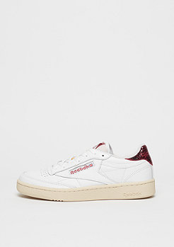 Reebok Schuh Club C 85 Vintage white/canyon red