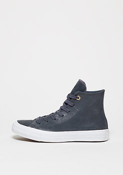 Chuck Taylor All Star II Craft Leather Hi sharkskin/sharkskin/white