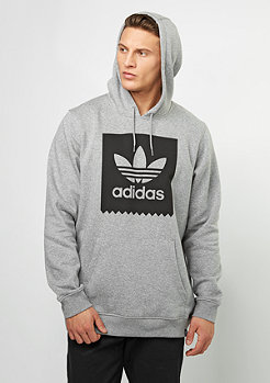 Hooded-Sweatshirt BLKBRD Basic core heather