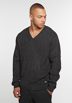 Sweatshirt Curve V black